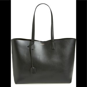 SAINT LAURENT NEW Shopping Leather Tote